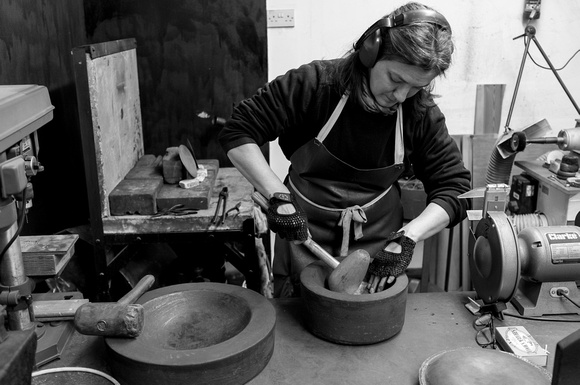 Artisans: Sian Evans, Coppersmith