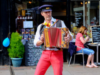 Sweeps Festival Melodeon Player