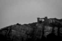 Some views of Hastings using a pinhole lens on a DSLR. Taken during a workshop with Black and White Photography Magazine.