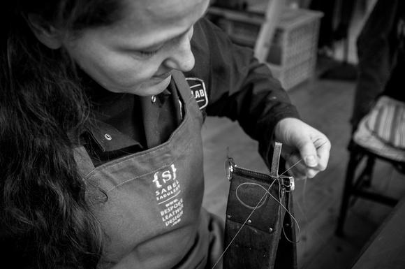 Artisans: Mia Sabel, Leather Design.