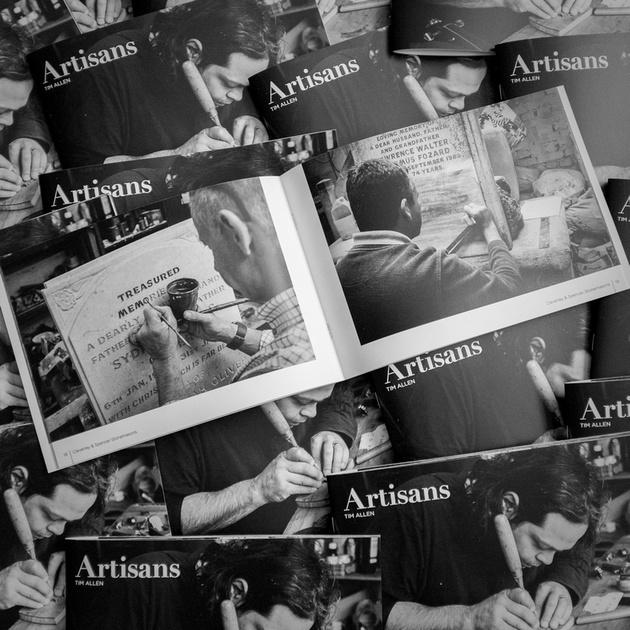 Artisans: pile of lovely books