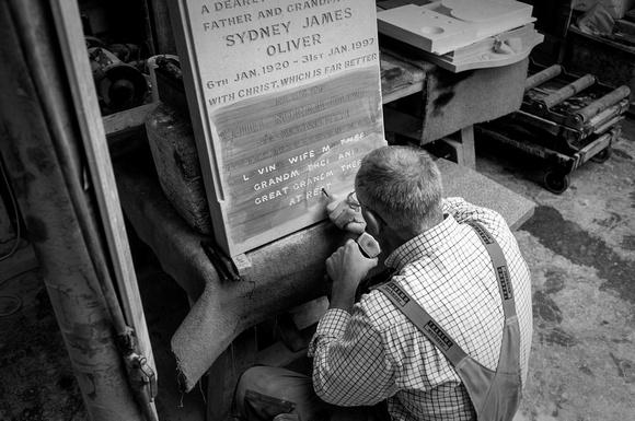 Artisans: Cleverley & Spencer Stonemasons, Dover