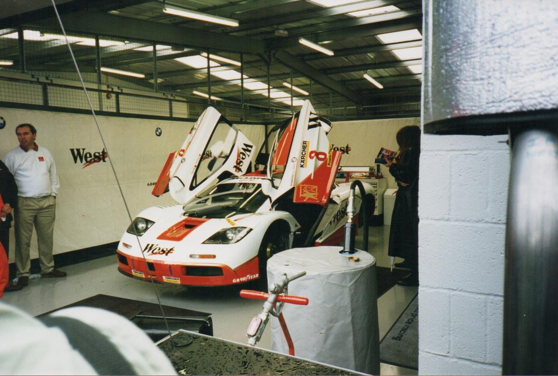 McLaren F1 GT Silverstone 4 Hour Race 1995 1996