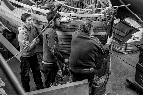 Artisans: Alan Staley Boat Restorers