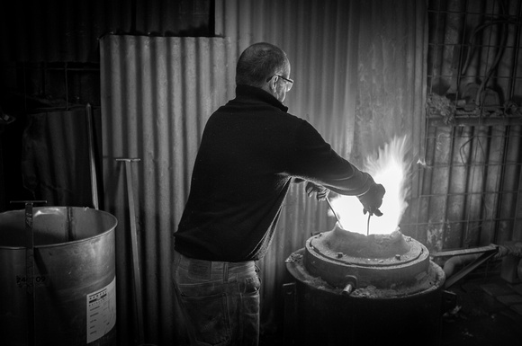 Artisans: James Virgo, bronze foundry.