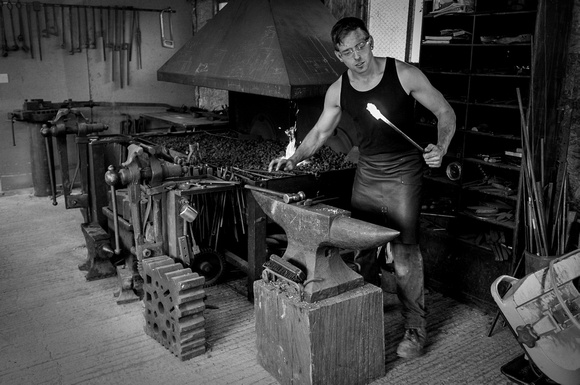 Artisans: Michael Hart, Blacksmith